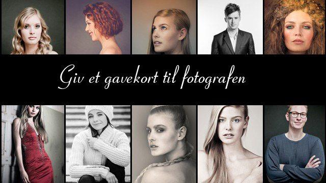 gavekort til fotograf i Hørsholm