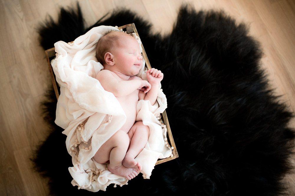 Fotografering af Newborn