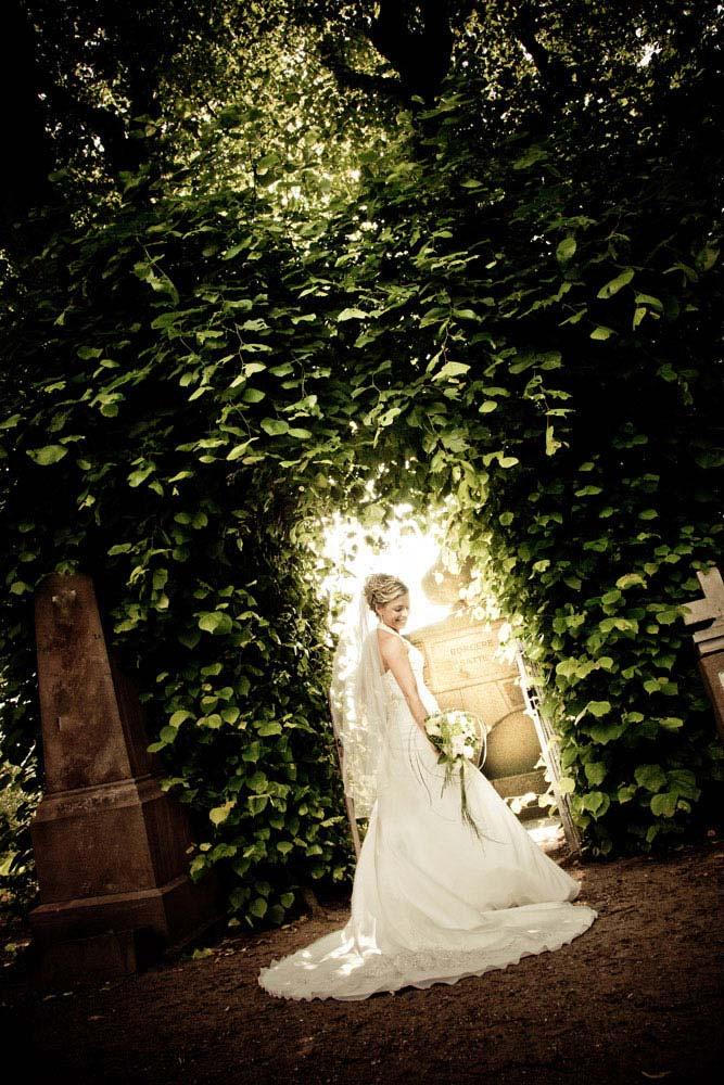 fotokunstneriske bryllupsfoto