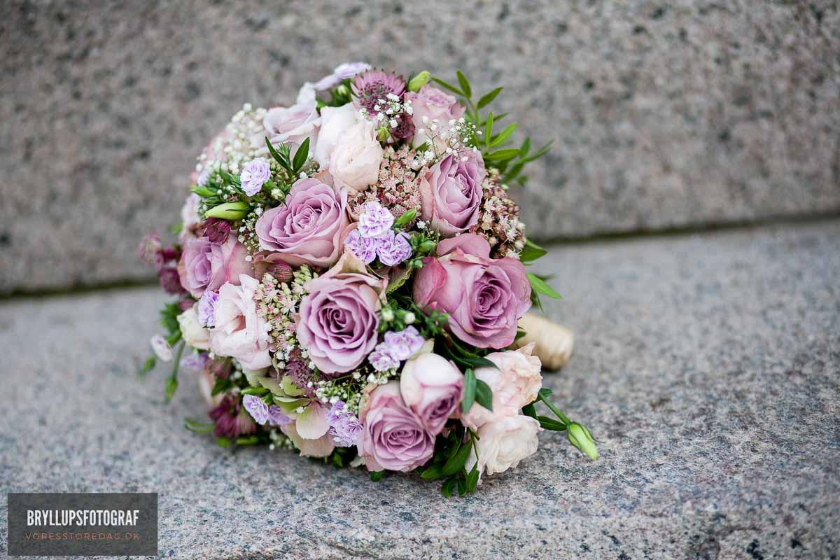 brudebuketten bryllup kolding
