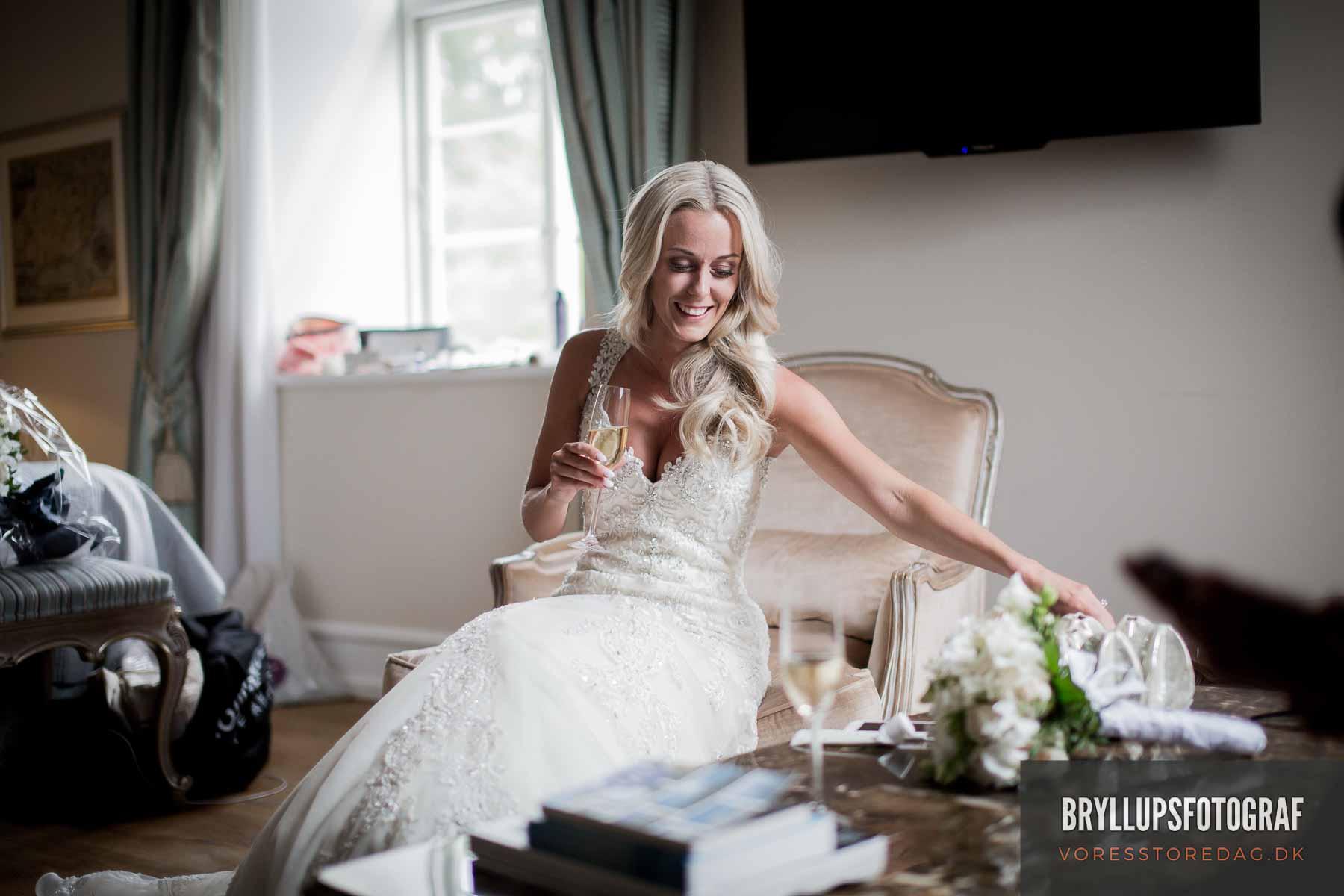 Her har du virkelig med en dygtig bryllupsfotograf kolding
