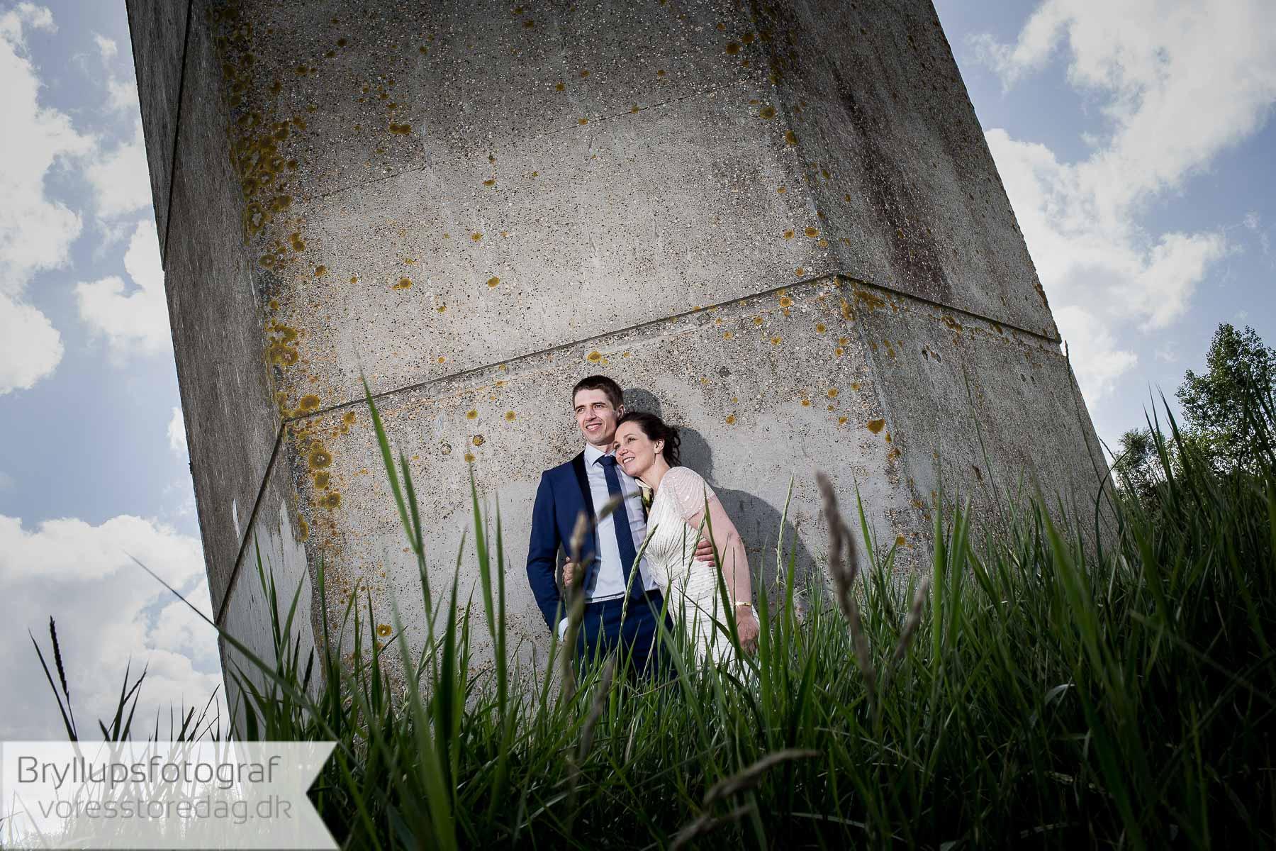 Moderne og professionel bryllupsfotografering kolding