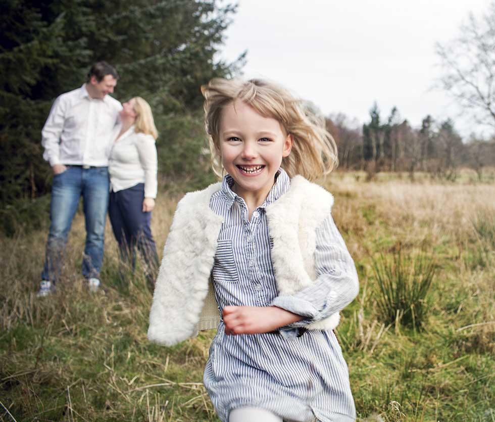 Familiefotografering tilpasset netop din familie
