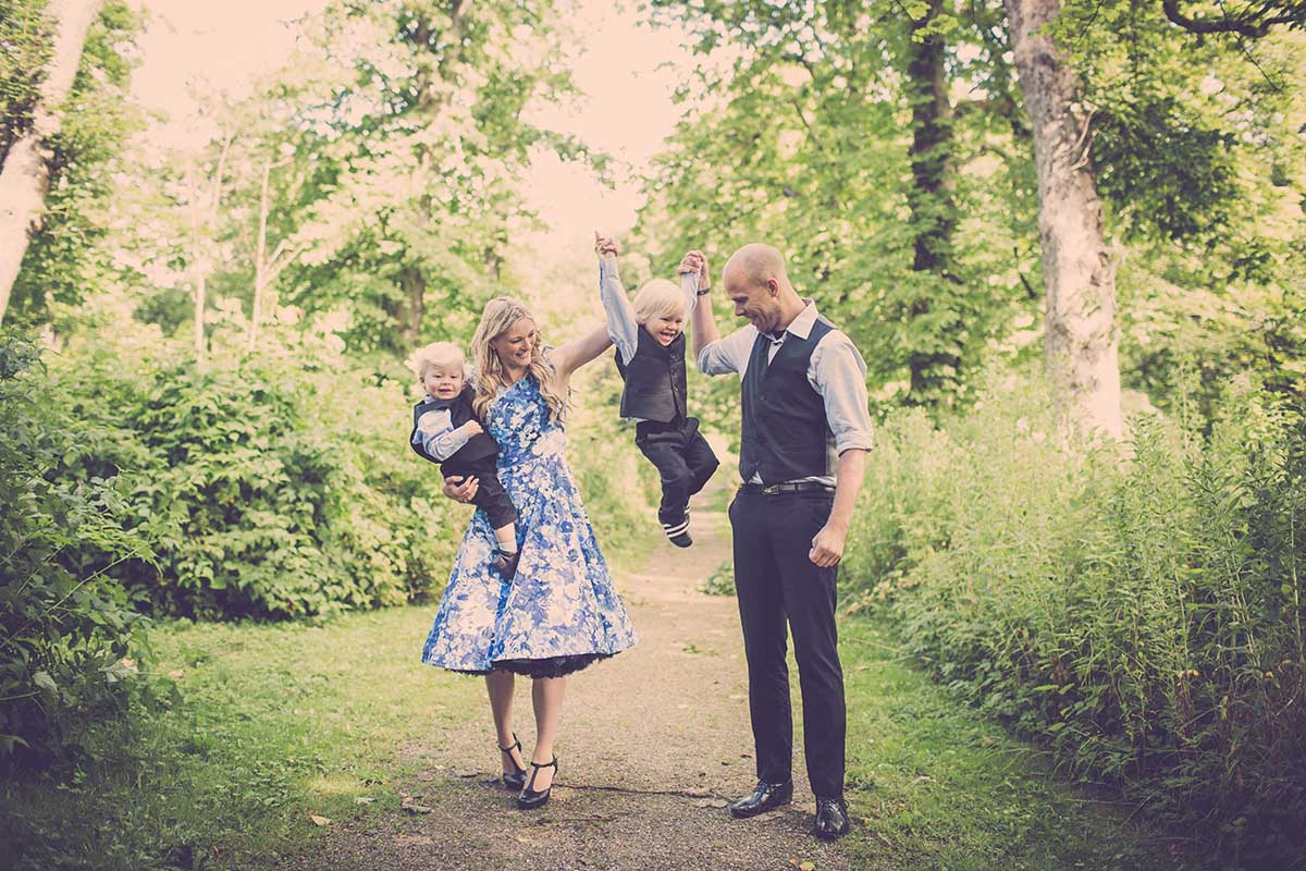 Når du skal booke din familie fotografering