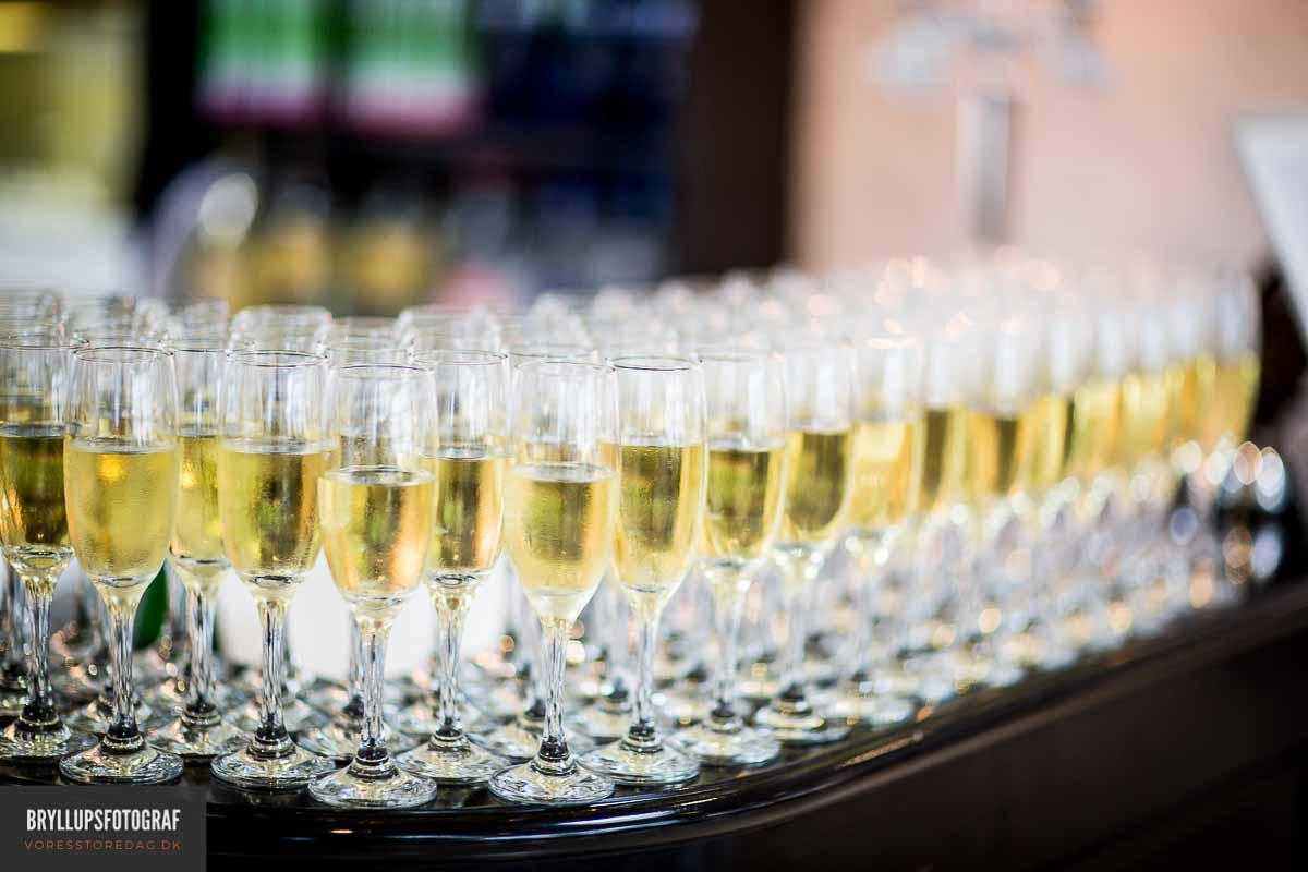 champagne bryllup koldingjord