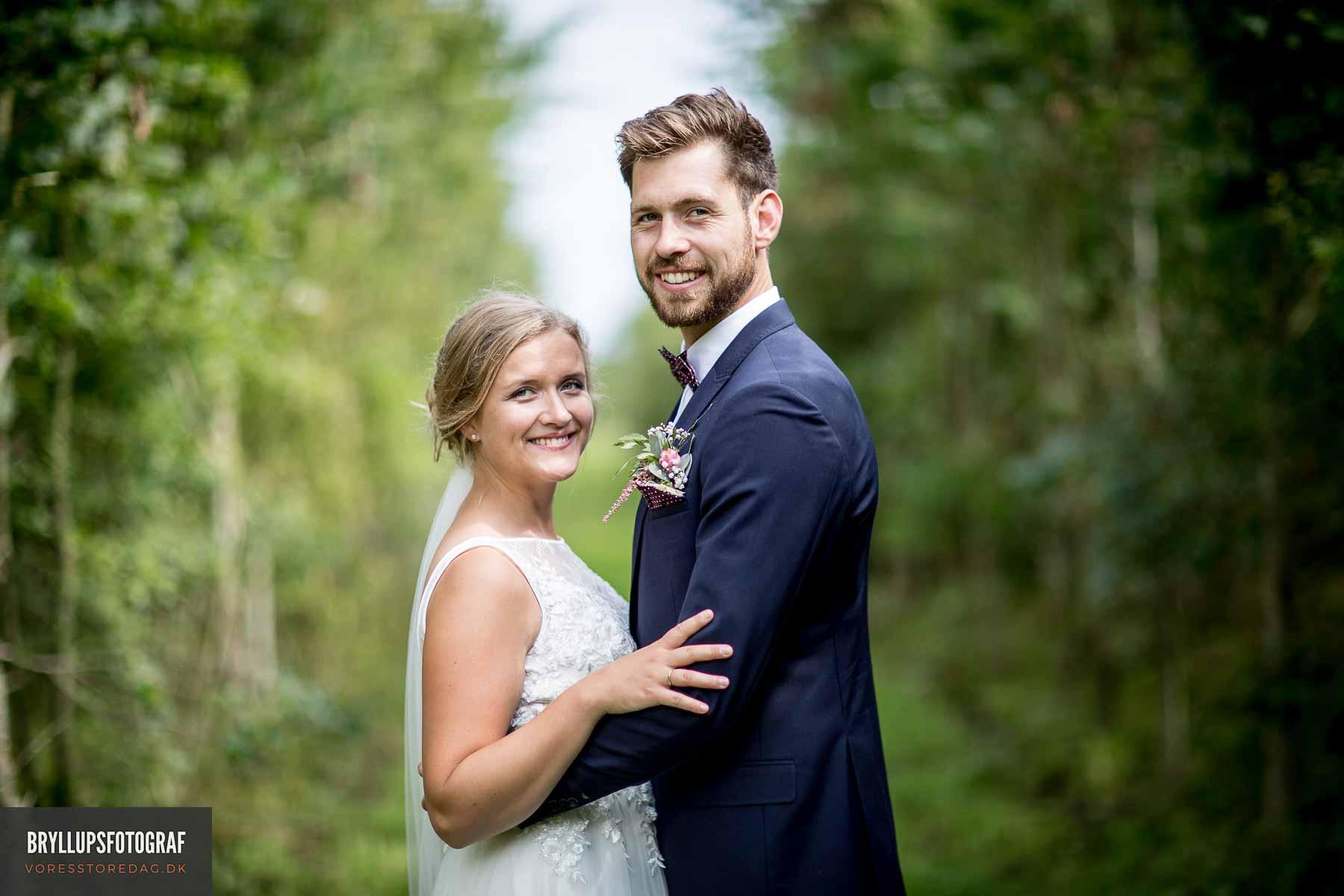 Kreative og stemningsfyldte bryllupsbilleder