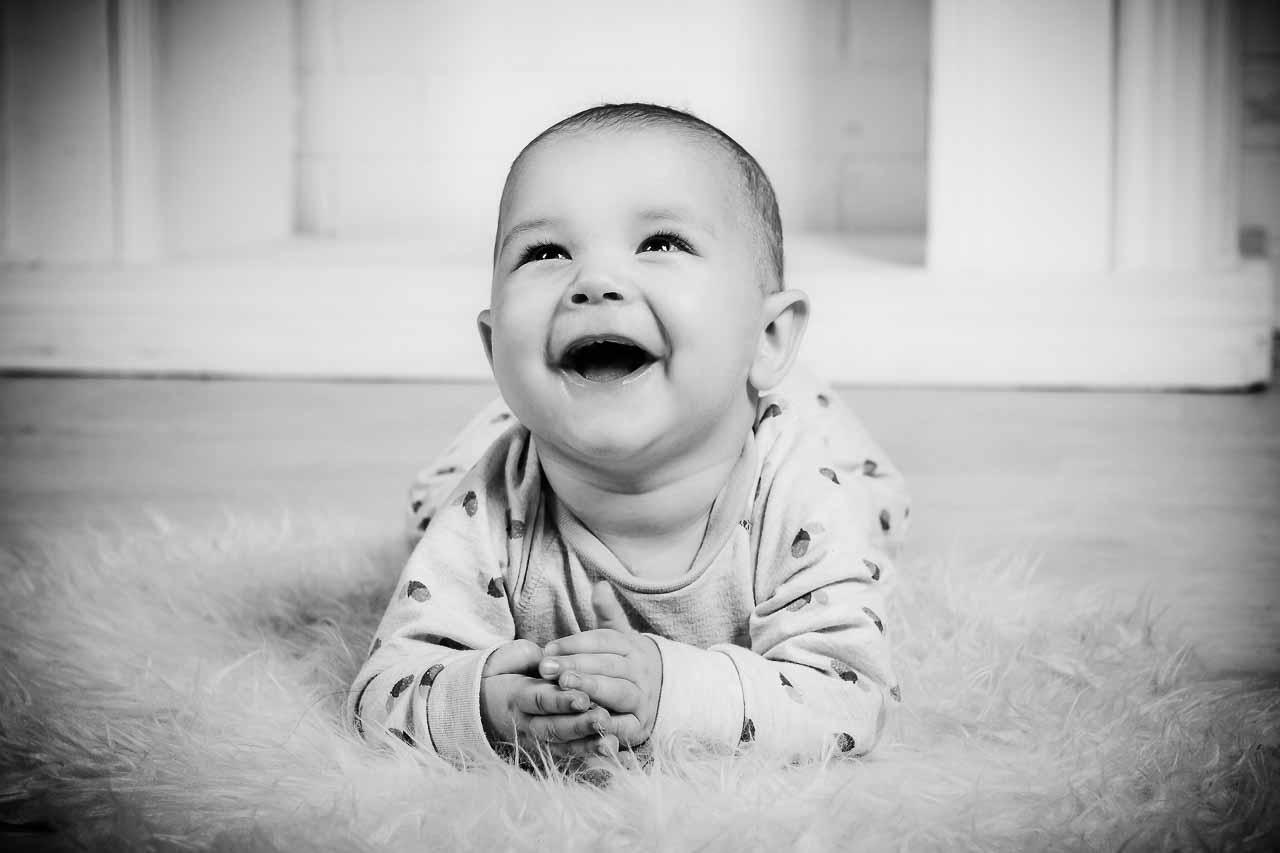 Børne fotografering - Gode billeder kan godt være en leg