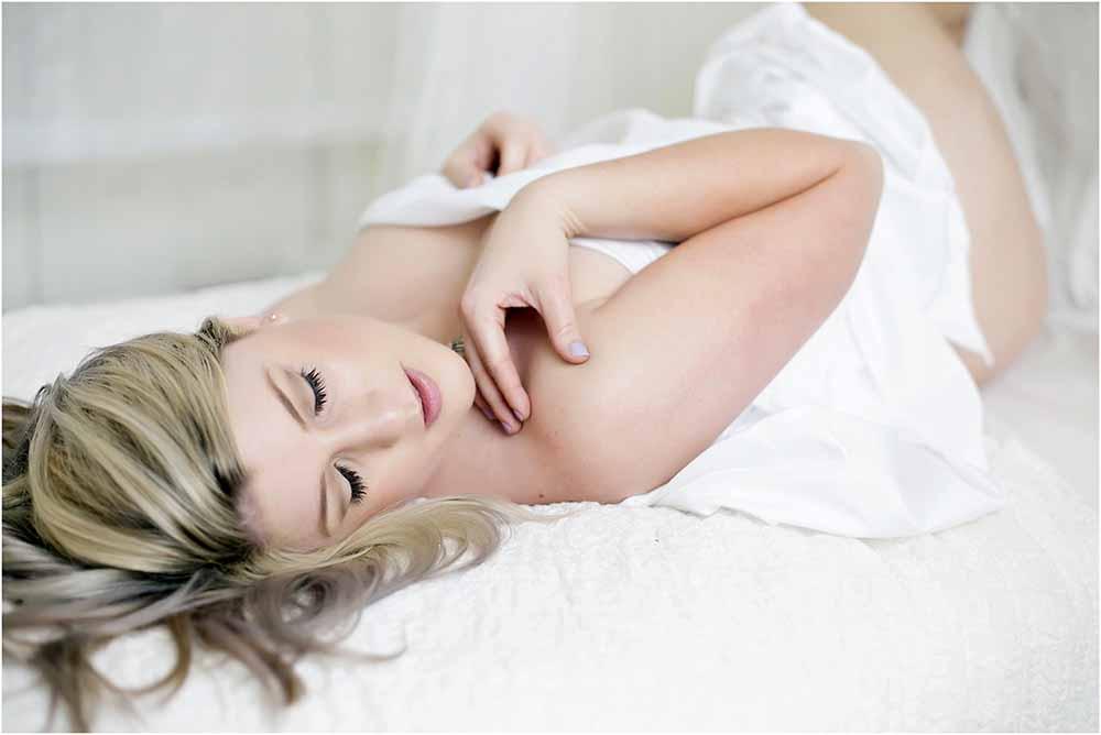 Smukke boudoir billeder i trygge rammer