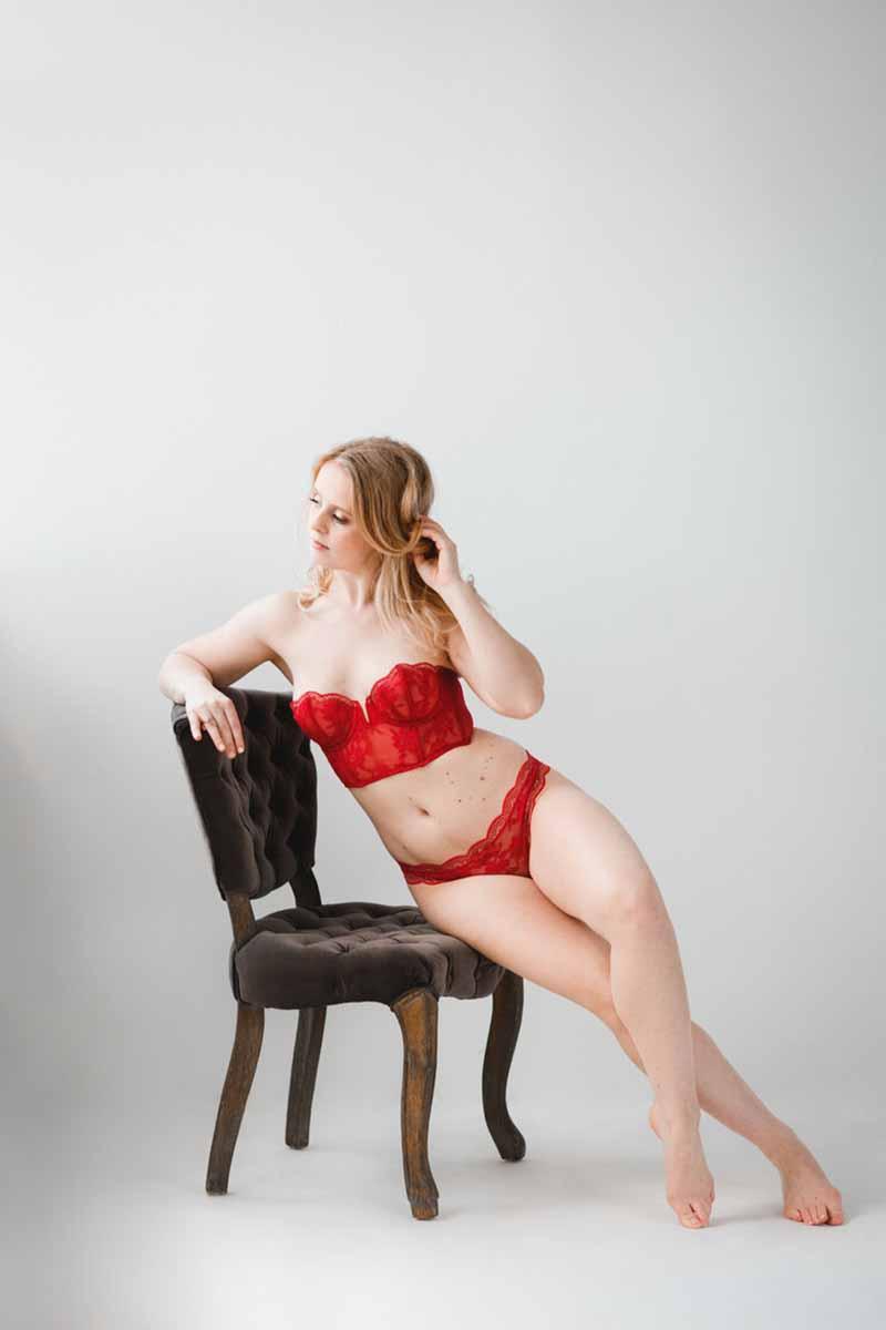 fineart boudoir billeder af Fotograf